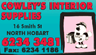 Cowley's Interior Supplies - North Hobart